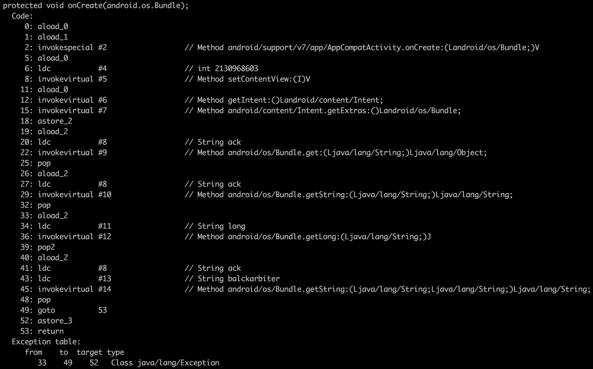 class示例代码